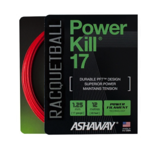 Ashaway Powerkill 17 Racquetball Strings Set