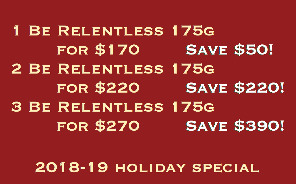 Be Relentless Holiday Special