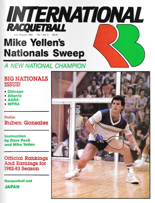 International Racquetball - July/Aug 1983