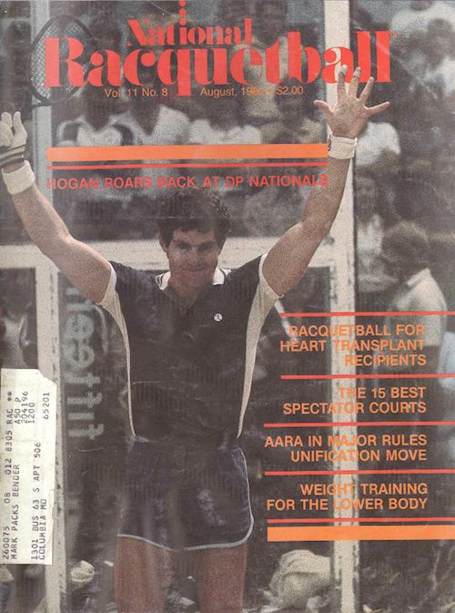 National Racquetball - Aug 1982