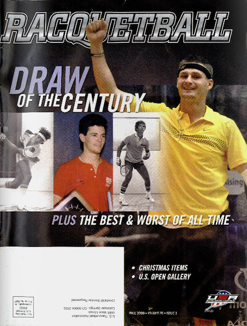 Racquetball Magazine - Fall 2009