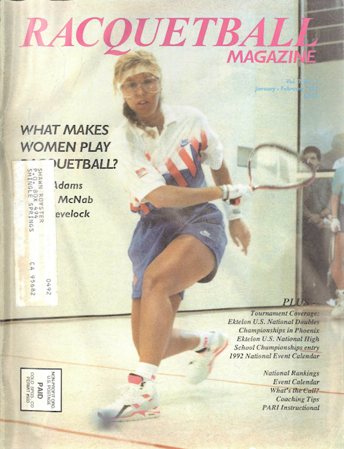 Racquetball Magazine - Jan/Feb 1992