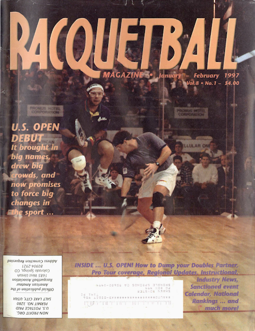 Racquetball Magazine - Jan/Feb 1997