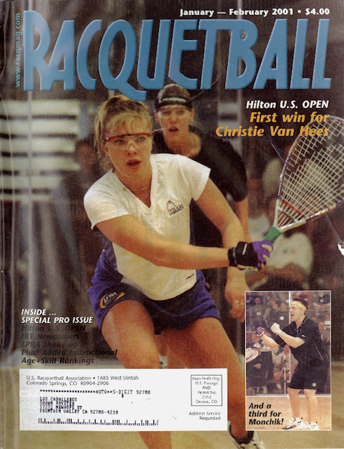 Racquetball Magazine - Jan/Feb 2001