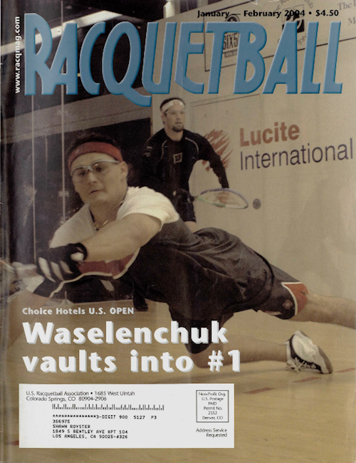 Racquetball Magazine - Jan/Feb 2004