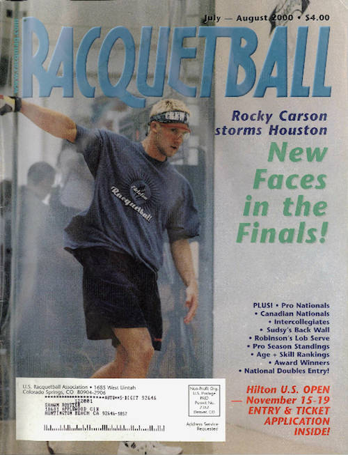 Racquetball Magazine - July/Aug 2000