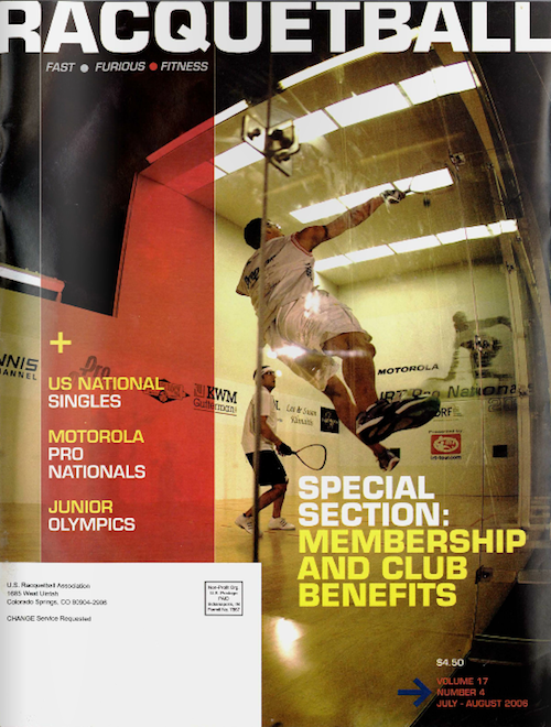 Racquetball Magazine - July/Aug 2006
