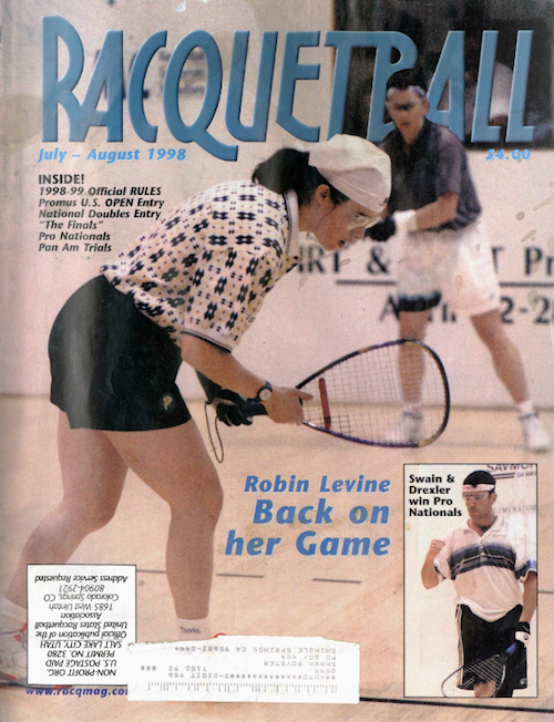 Racquetball Magazine - July/Aug 1998