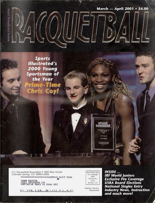 Racquetball Magazine - Mar/Apr 2001