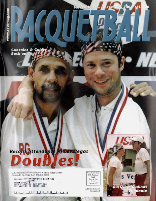 Racquetball Magazine - Nov/Dec 2001