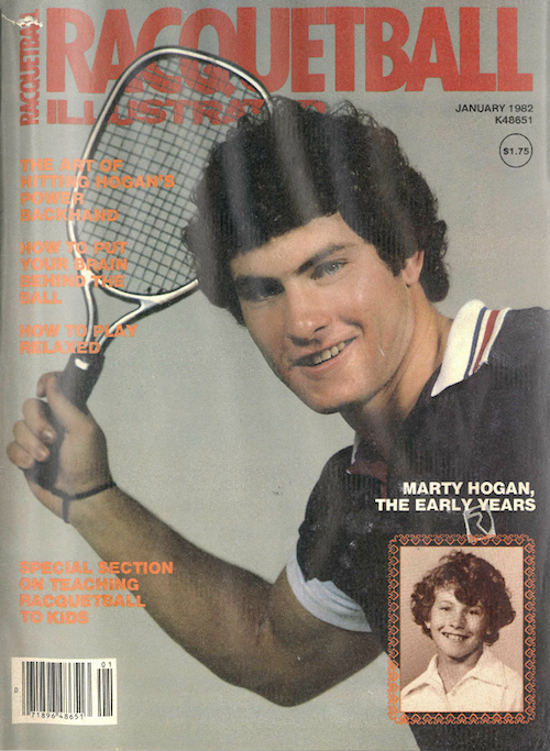 Racquetball Illustrated - Jan 1982