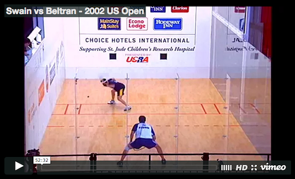 Cliff Swain vs Alvaro Beltran - 2002 US Open