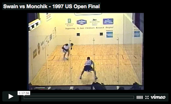 Cliff Swain vs Sudsy Monchik - 1997 US Open Final