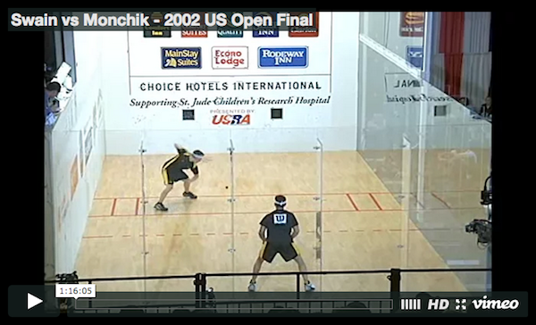 Cliff Swain vs Sudsy Monchik - 2002 US Open Final