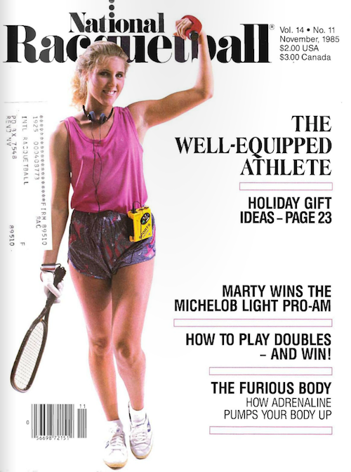 National Racquetball - November 1985
