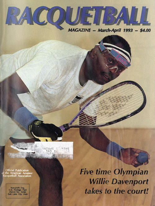Racquetball - March April 1993