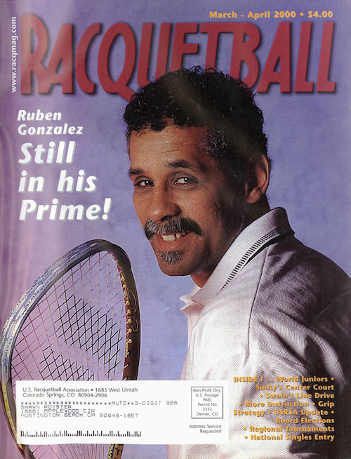 Racquetball - March April 2000