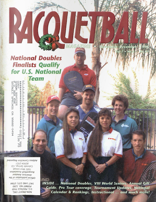 Racquetball - November December 1996