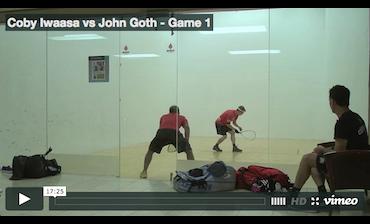 Coby Iwaasa vs John Goth