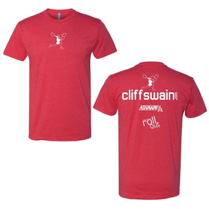 Cliff Swain Signature T-Shirt - Red