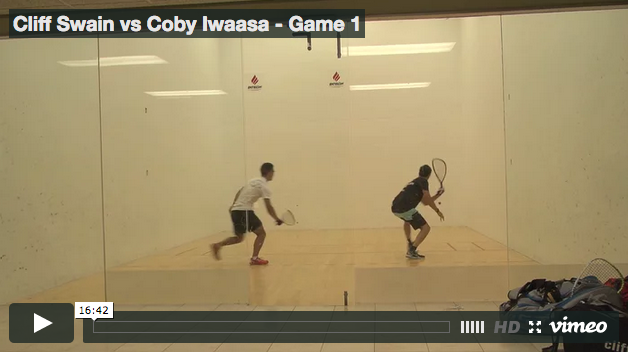 Cliff Swain vs Coby Iwaasa - Game 1
