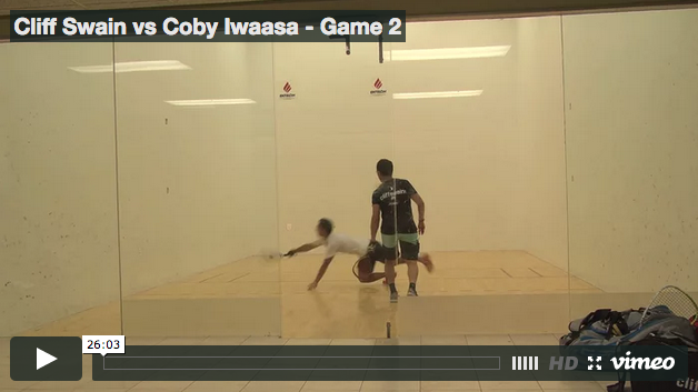 Cliff Swain vs Coby Iwaasa - Game 2
