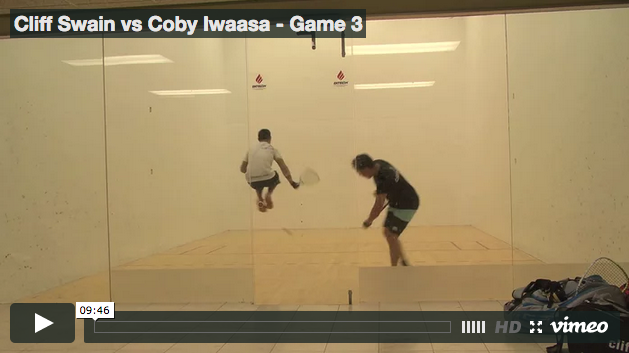 Cliff Swain vs Coby Iwaasa - Game 3