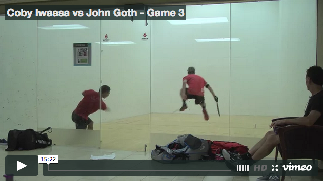 Coby Iwaasa vs John Goth - Game 3