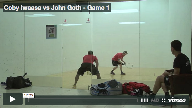 Coby Iwaasa vs John Goth - Game 1