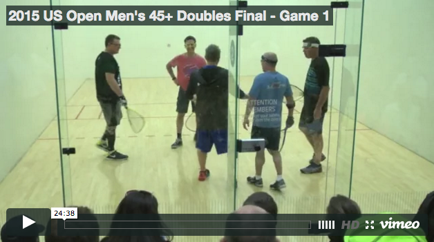 Cliff Swain & Mike Ladge vs Gerry Price & Tim Doyle - 2015 US Open Game 1