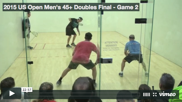 Cliff Swain & Mike Ladge vs Gerry Price & Tim Doyle - 2015 US Open Game 2