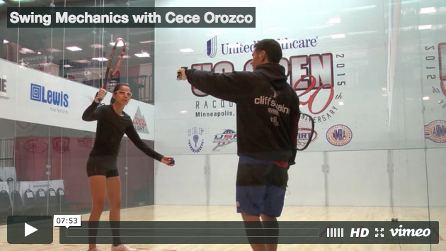 Swing Mechanics, with Ceci Orozco