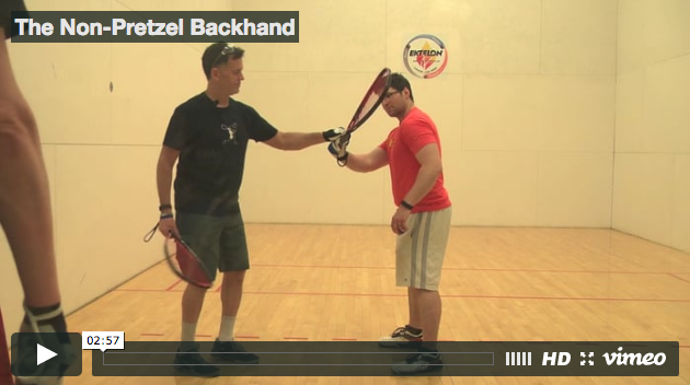 Cliff Swain Backhand Tips