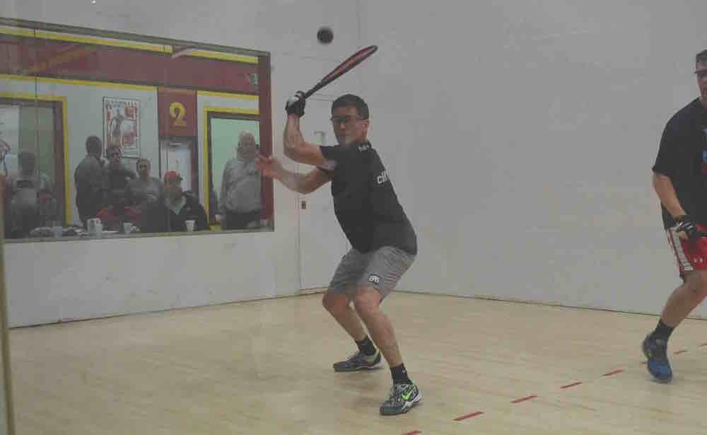 Cliff Swain - racquet prep