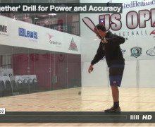 'Feet Together' Drill for Power and Accuracy