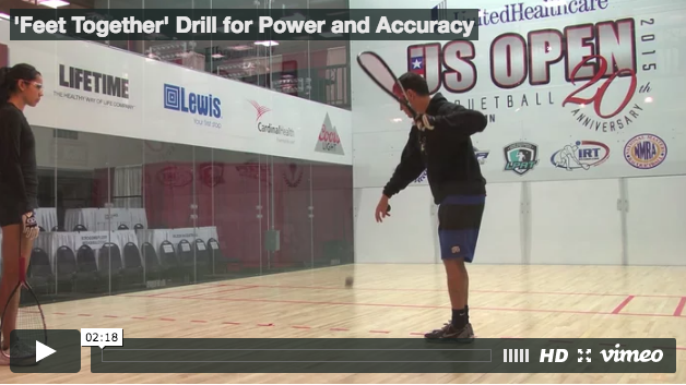 'Feet Together' Drill to Improve Power and Accuracy