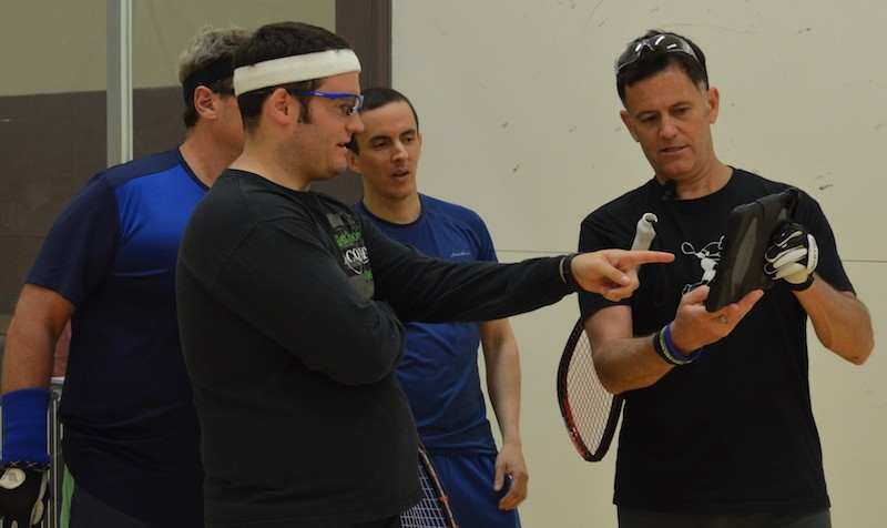 Cliff Swain Racquetball Camp 2