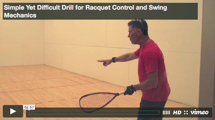 Cliff Swain - Racquet Control and Swing Mechanics