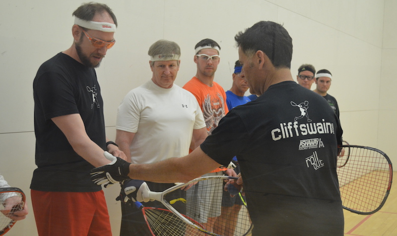 Cliff Swain Racquetball Camp 1