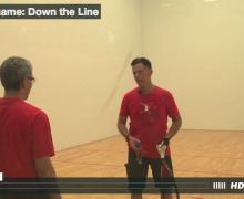 Training Game: Down the Line