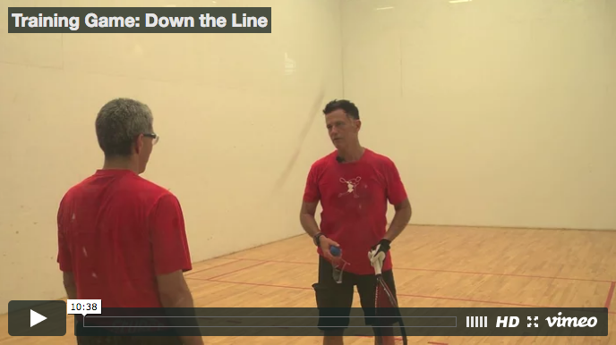 Cliff Swain - Down the Line Training Game