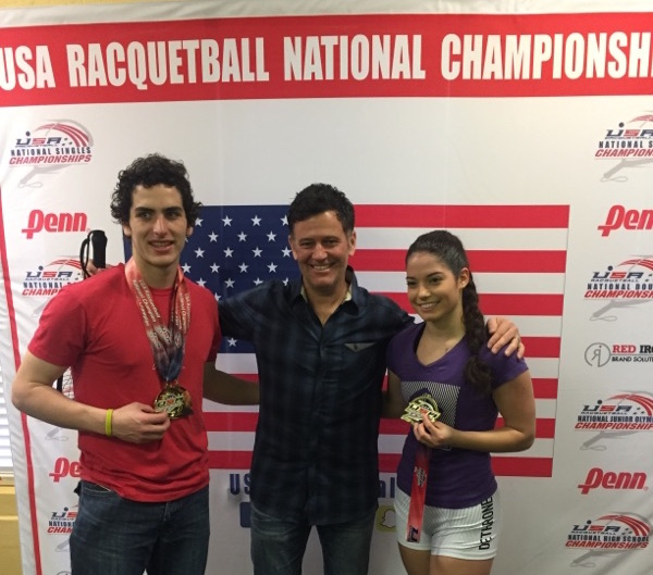 Dane Elkins, Hollie Scott, and Cliff Swain - 2017 High School Nationals