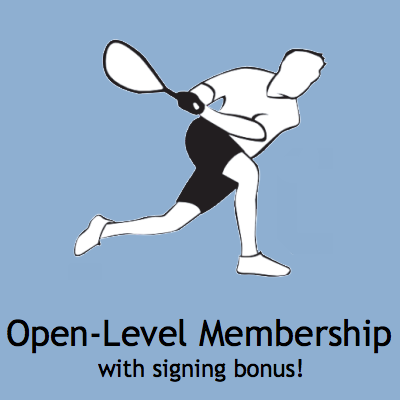 Open-Level Membership with Signing Bonus