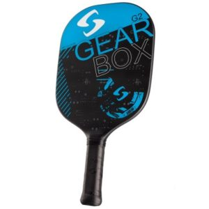 Gearbox G2 Blue Pickleball Paddle available at CliffSwain.com