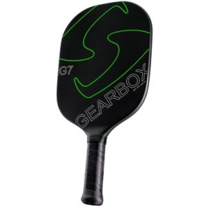 Gearbox G7 Green Pickleball Paddle available at CliffSwain.com