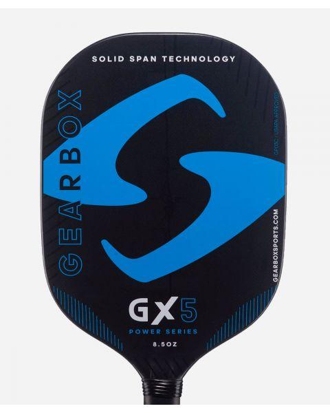 Gearbox Pickleball GX5 Blue Power 8.5 oz